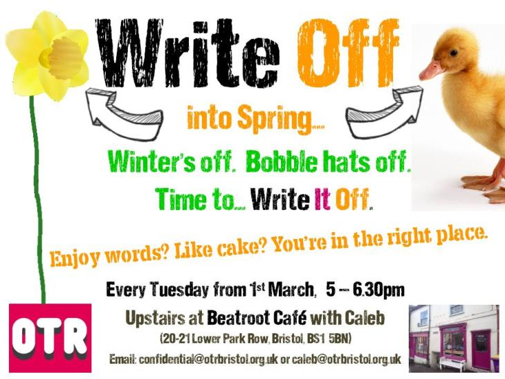 Write Off Info Poster March 2016