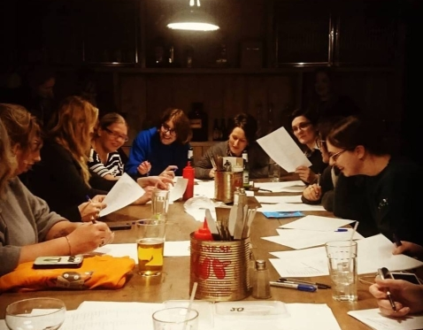 Polari Writing with the Palones of Chelt Lit Fest